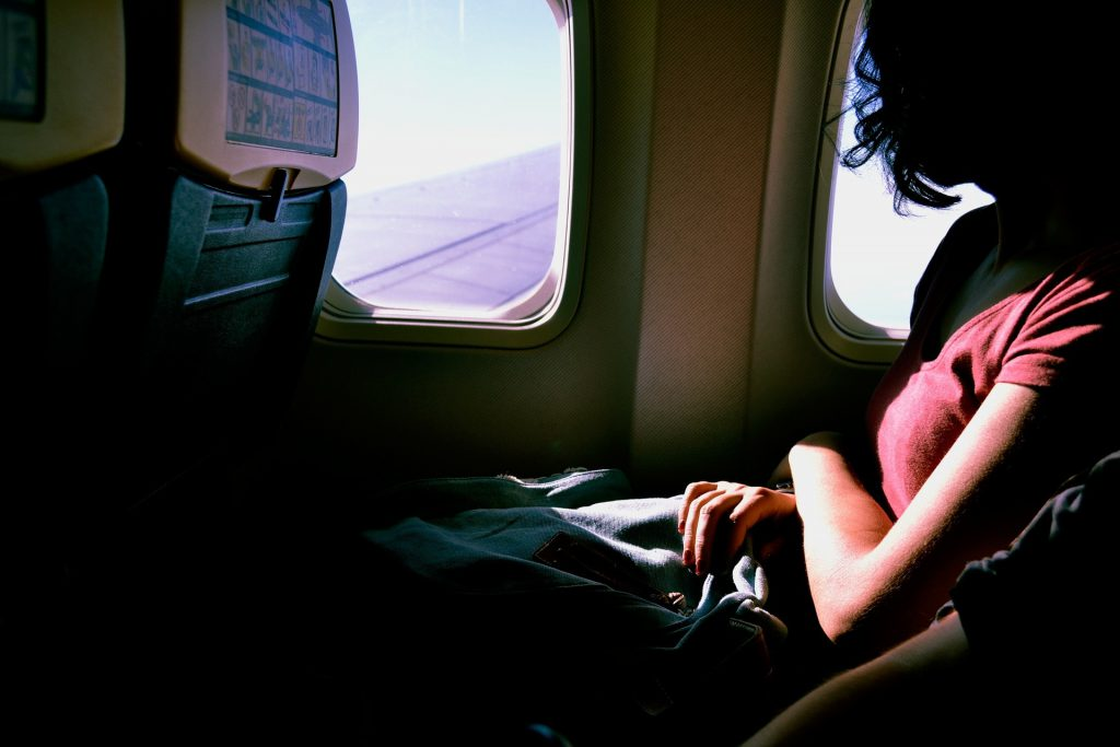 sick in plane