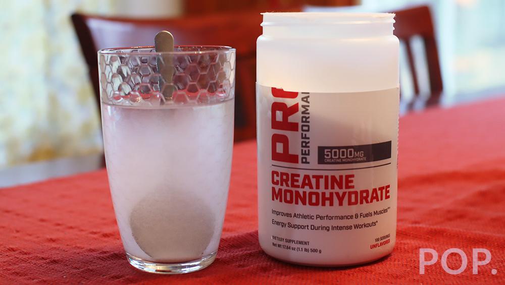 creatine mixed